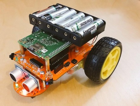 A Dot Net IoT Core Implementation of the 4tronix Pi2Go Robot – Part 1 – The Hardware